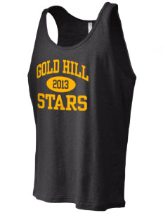 Gold Hill Elementary School Stars Men's Jersey Tank