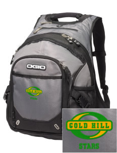 Gold Hill Elementary School Stars Embroidered OGIO Fugitive Backpack
