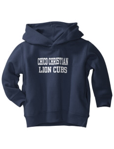 Chico Christian School Lion Cubs  Toddler Fleece Hooded Sweatshirt with Pockets