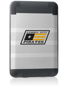 Cannel City Elementary School Pirates Kindle Keyboard 3G Skin