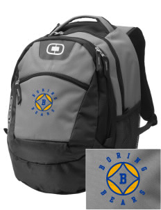 Boring Middle School Bears Embroidered OGIO Rogue Backpack