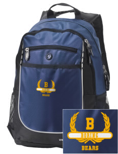 Boring Middle School Bears Embroidered OGIO Carbon Backpack