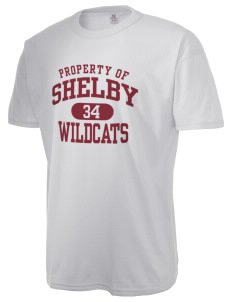 Shelby Elementary School Wildcats  Russell Men's NuBlend T-Shirt
