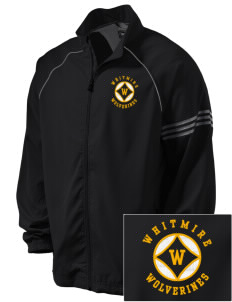 Whitmire High School Wolverines Embroidered adidas Men's ClimaProof Jacket