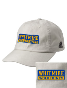Whitmire High School Wolverines Embroidered adidas Relaxed Cresting Cap