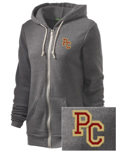 Portsmouth Christian Academy Eagles Embroidered Alternative Unisex The Rocky Eco-Fleece Hooded Sweatshirt