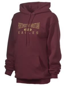 Portsmouth Christian Academy Eagles Unisex 7.8 oz Lightweight Hooded Sweatshirt