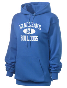 Vancleave High School Bulldogs Unisex 7.8 oz Lightweight Hooded Sweatshirt