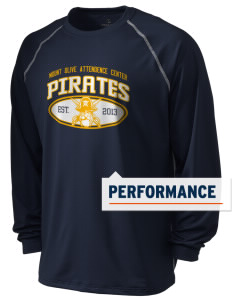 Mount Olive Attendence Center Pirates Holloway Men's Fuel Performance Long Sleeve T-Shirt