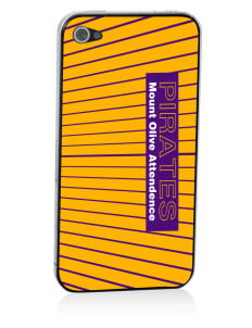 Mount Olive Attendence Center Pirates Apple iPhone 4/4S Skin