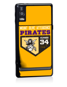 Mount Olive Attendence Center Pirates Motorola Droid 2 Skin