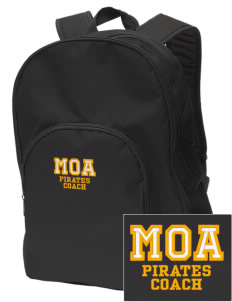 Mount Olive Attendence Center Pirates Embroidered Value Backpack