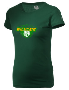 Saint Lawrence School Wildcats  Russell Women's Campus T-Shirt