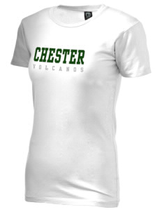 Chester Elementary School Volcanos Alternative Women's Basic Crew T-Shirt