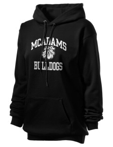 McAdams High School Bulldogs Unisex Hooded Sweatshirt