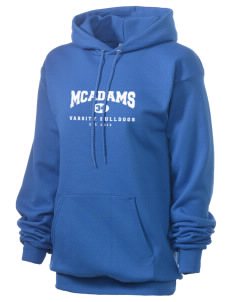 McAdams High School Bulldogs Unisex 7.8 oz Lightweight Hooded Sweatshirt