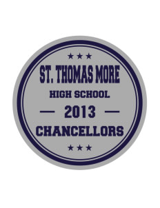 St. Thomas More School Chancellors Sticker