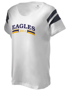 Tooker Avenue Elementary School Eagles Holloway Women's Shout Bi-Color T-Shirt