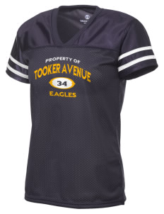 Tooker Avenue Elementary School Eagles Holloway Women's Fame Replica Jersey