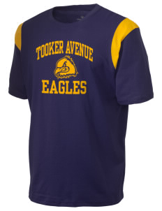 Tooker Avenue Elementary School Eagles Holloway Men's Rush T-Shirt