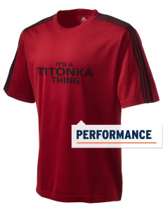 Titonka Consolidated School Indians adidas Men's ClimaLite T-Shirt