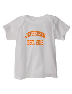 Jefferson Elementary School Comets  Baby Lap Shoulder T-Shirt