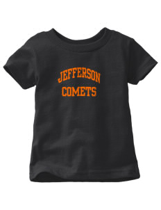 Jefferson Elementary School Comets  Toddler Jersey T-Shirt