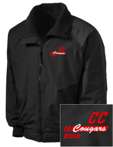 Community Christian School Cougars Embroidered Tall Men's Challenger Jacket