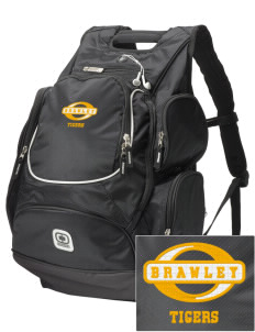 Brawley Middle School Tigers  Embroidered OGIO Bounty Hunter Backpack