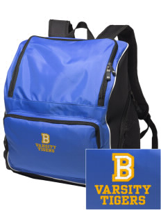 Brawley Middle School Tigers Embroidered Holloway Backpack