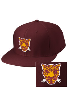 Grove City Christian School Jaguars Embroidered Diamond Series Fitted Cap