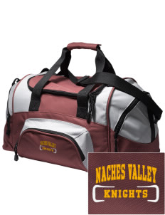 Naches Valley Middle School Knights Embroidered Small Colorblock Duffel
