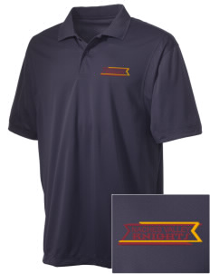 Naches Valley Middle School Knights Embroidered Men's Micro Pique Polo