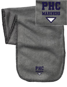 Pacific Harbor Christian School Mariners Embroidered Fleece Scarf