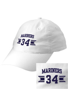 Pacific Harbor Christian School Mariners Embroidered Vintage Adjustable Cap
