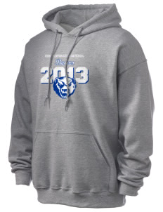Kiona Benton City High School Bears Ultra Blend 50/50 Hooded Sweatshirt