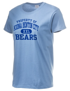 Kiona Benton City High School Bears Women's 6.1 oz Ultra Cotton T-Shirt