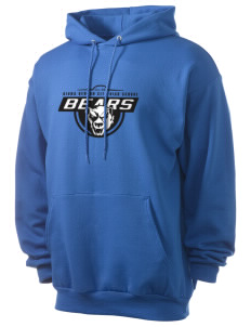 Kiona Benton City High School Bears Men's 7.8 oz Lightweight Hooded Sweatshirt