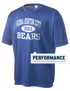 Kiona Benton City High School Bears Men's Competitor Performance T-Shirt