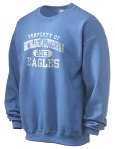 Bethlehem Lutheran School Eagles Ultra Blend 50/50 Crewneck Sweatshirt