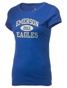 Emerson Elementary School Eagles Holloway Women's Groove T-Shirt