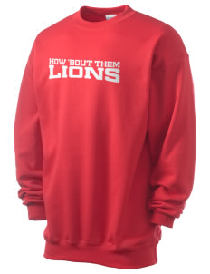 Community Christian School Lions Men's 7.8 oz Lightweight Crewneck Sweatshirt