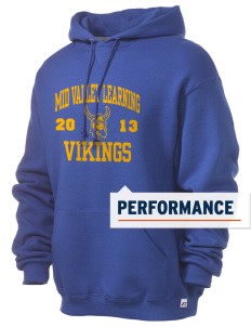 Mid Valley Learning Center Vikings Russell Men's Dri-Power Hooded Sweatshirt