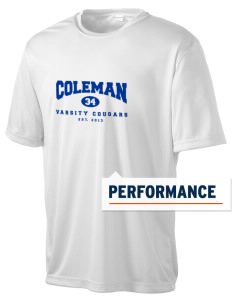 Coleman Prep School Cougars Men's Competitor Performance T-Shirt