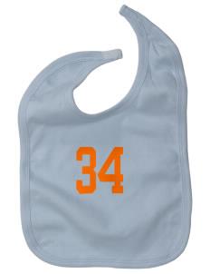 West Seattle Montessori School Globes Baby Interlock Bib