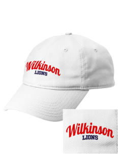 Wilkinson School Lions  Embroidered New Era Adjustable Unstructured Cap