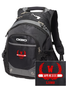 Wilkinson School Lions Embroidered OGIO Fugitive Backpack
