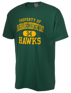 Fairbanks Country Day School Hawks  Russell Men's NuBlend T-Shirt
