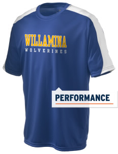Willamina Middle School Wolverines  Holloway Men's Power T-Shirt