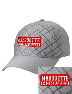 Marquette High School Mohawks Embroidered Mixed Media Cap